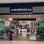 the fragrance shop signage . shop sign before