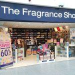 The fragrance shop Stack shop signage . shop sign before