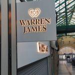 warren james case study signage acrylic signs
