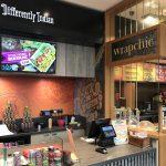 Restaurant signage restaurant signs Wrap chic signage wall mural custom wallpaper