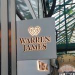 Warren James Illuminated Sign External Signage