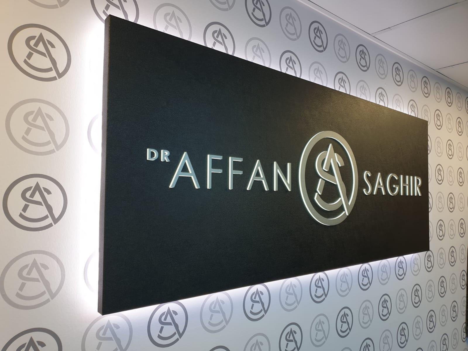 LED Signage   Dr Affan Sign