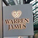 warren james signage. Graphics Signage