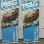 pull up banner / roller banner