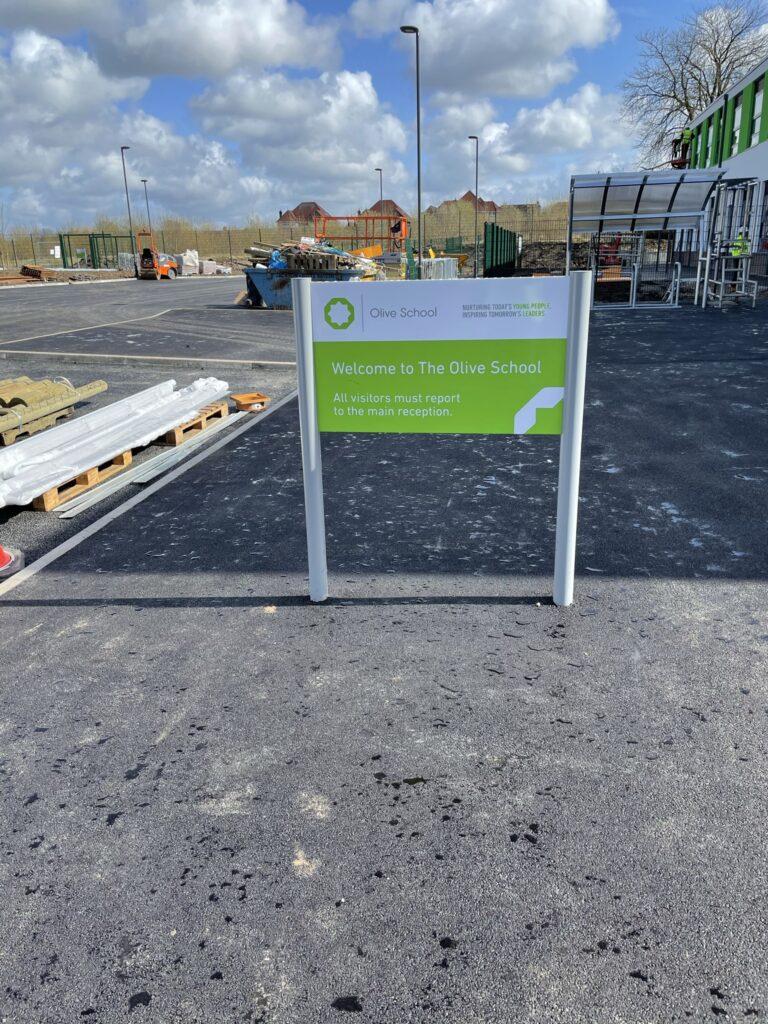 School signage | Construction signage